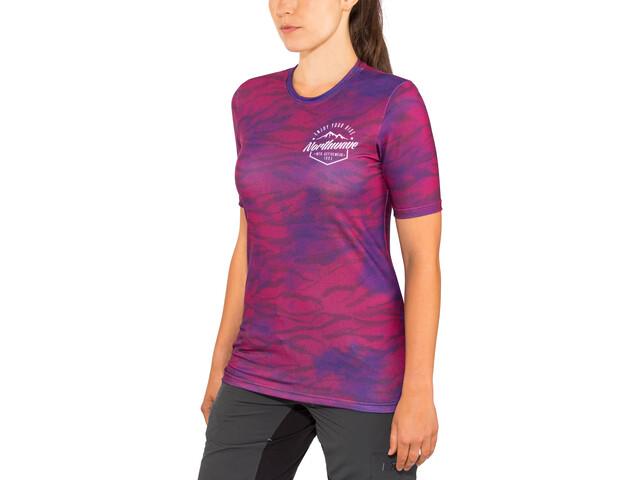 a63d0f79cc5e75 Northwave Enduro MTB maglietta a maniche corte Donna rosa/viola su ...